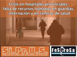 Crisis en HCSyS