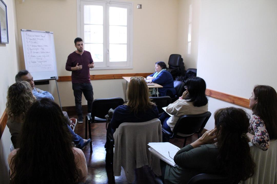 Finalizó curso de oratoria en Regional Rosario