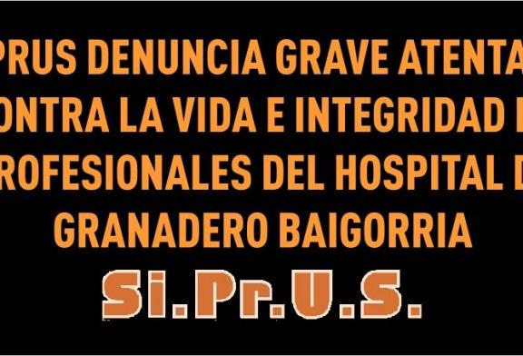 SIPRUS denuncia atentado contra médica del Hospital de Granadero Baigorria