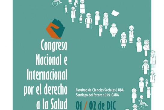 Congreso Nacional e Internacional por el Derecho a la Salud // 01 y 02 Diciembre
