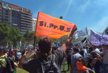 REFORMA PREVISIONAL: SIPRUS en la calle, en Buenos Aires, en Rosario, en Santa Fe, en Reconquista…