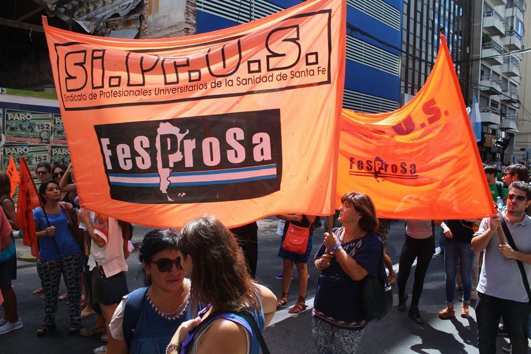"""Boriotti: """"resistamos en unidad peleando por nuestros derechos"""""""