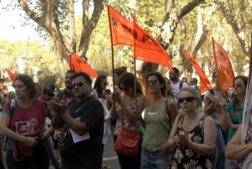 Siprus marchó por salarios dignos
