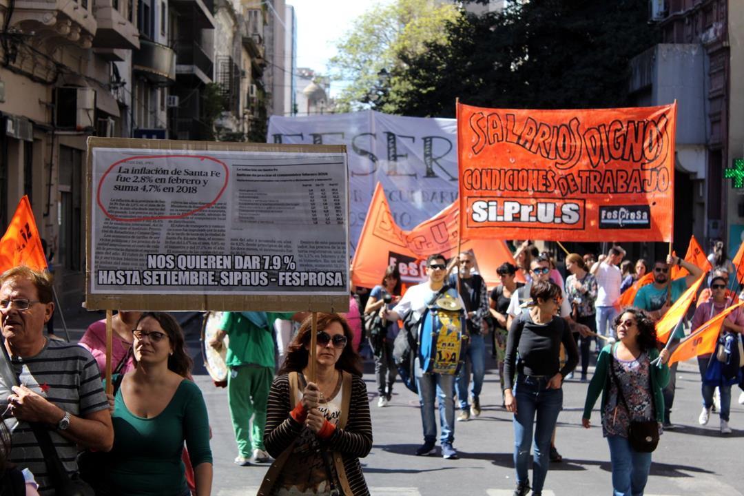 SIPRUS repudia el cierre de la paritaria por decreto