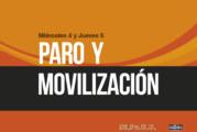 PARO Y MOVILIZACIÓN