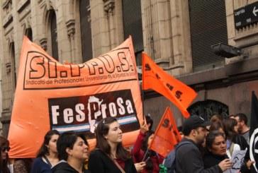 SIPRUS paró contra el ajuste y la quita de derechos