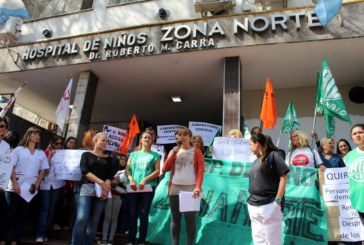 En defensa de la salud: abrazo al Hospital de Niños Zona Norte
