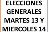 Elecciones generales SIPRUS