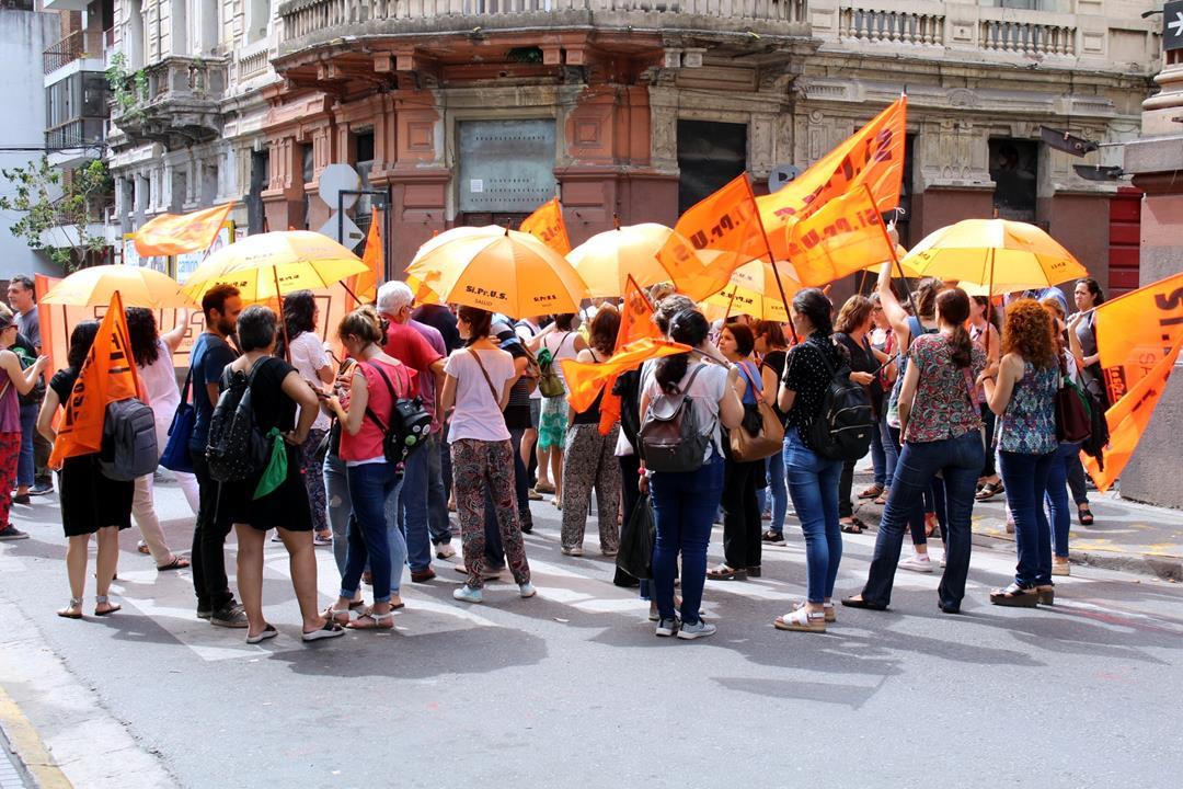 SIPRUS paró por salarios y condiciones de trabajo