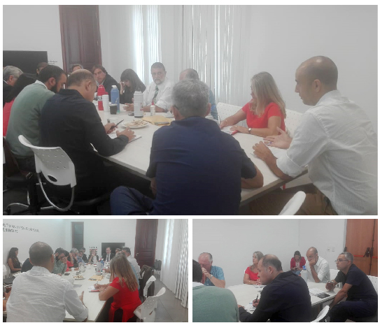Primera reunión paritaria del sector salud