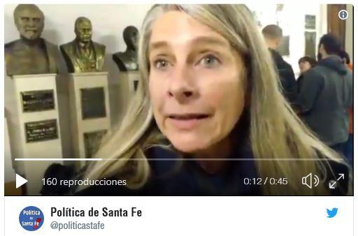 Tweet: María Fernanda Boriotti, Sec. Gral. de  @SiprusSalud , nos contó sobre este tema que se viene militando junto a algunos legisladores.