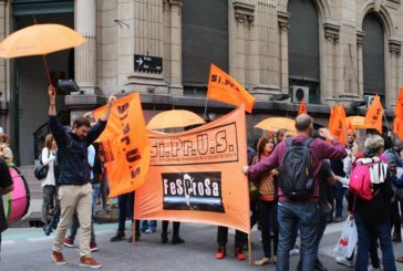 Contundente paro de SIPRUS por salarios y condiciones de trabajo
