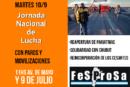 MARTES 10. JORNADA PROVINCIAL DE LUCHA