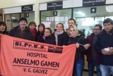 Paro en el Hospital Gamen: contra la discriminación y el apriete