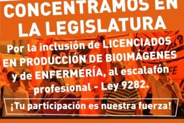 Inclusión de Lic. en Producción de Bioimágenes y de Enfermería al escalafón 9282