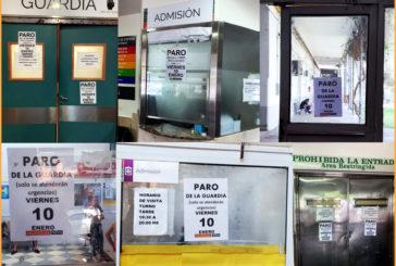 Viernes paran guardias de los hospitales Provincial y Eva Perón