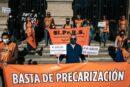 Profesionales de la salud exigen diálogo a Perotti