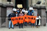 Esta mañana, en Rosario y Santa Fe, SIPRUS reclamó el cumplimiento de las leyes de cambio de escalafón sancionadas el año pasado.