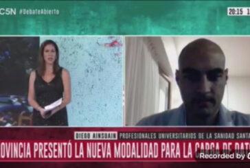Entrevista C5N - Diego Aisuain