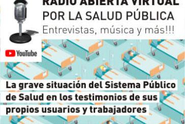 Radio Abierta Virtual  por la Salud Pública